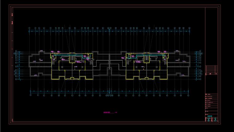 【弱电智能化】苏州某高层住宅楼弱电智能化项目施工图_1