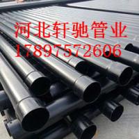 200*4热浸塑钢管北京厂家生产,专业生产黑色涂塑钢管