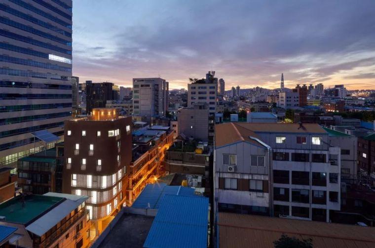 多层酒店公寓建筑设计:商住混用的3/1大楼