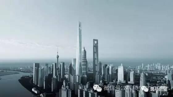 632米上海中心从开工到封顶全纪录!