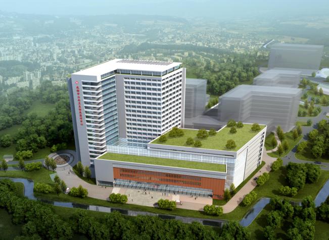 [四川]成都市公共卫生临床医疗中心景观方案文本(含建筑设计)