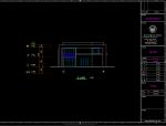 简约式B型别墅建筑施工图