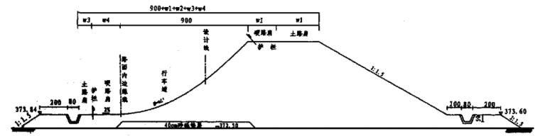 长安大学汽车性能实验场高速弯道施工方案研究