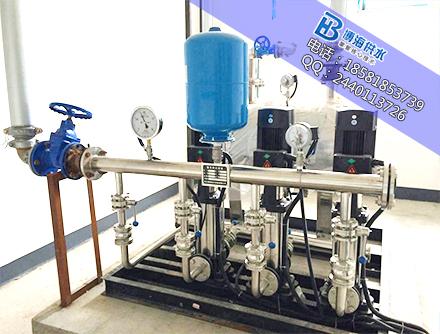 无负压供水设备在贵州都应用在哪些领域?