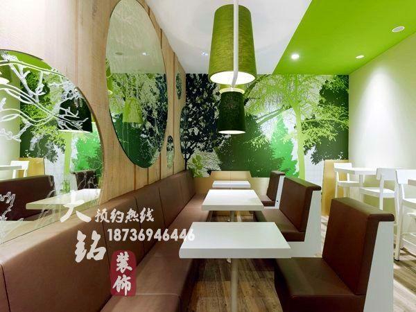 鹤壁餐厅装修公司谈论绿色餐饮概念