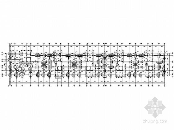 [黑龙江]15层框支剪力墙结构住宅楼结构施工图