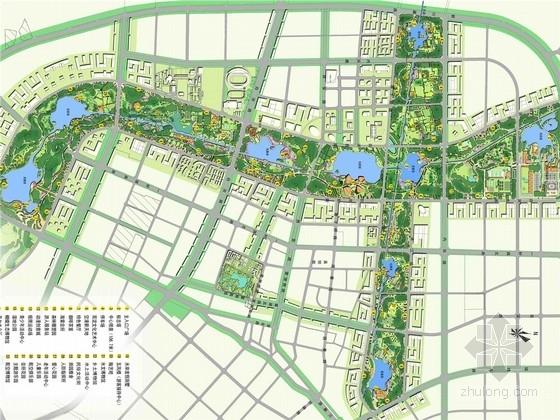 [成都]现代生态滨水城市综合公园景观规划设计方案