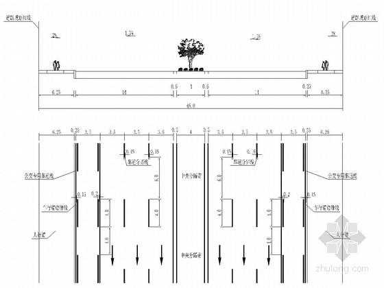 [四川]城市主干路道路改造交通工程施工图设计75张