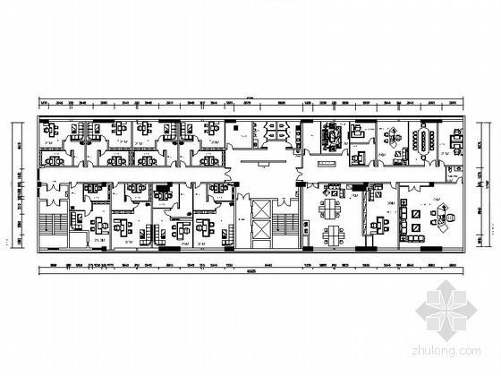 [安徽]某担保有限公司办公空间装修图