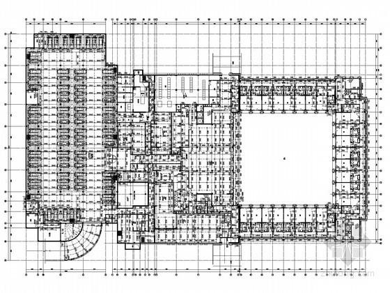 [新疆]五星级会所酒店给排水图纸(气体灭火 大空间智能灭火)