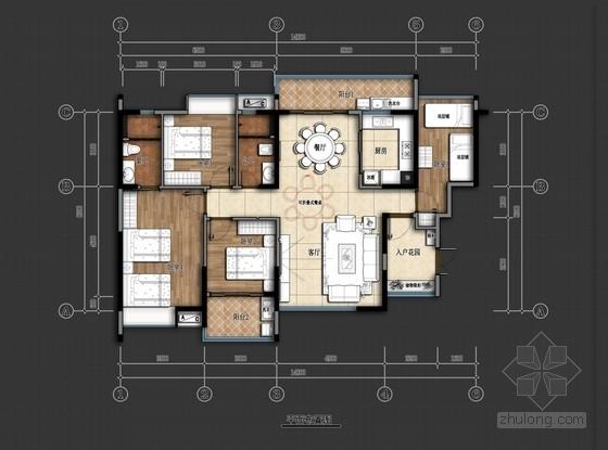 欧式田园风格温馨宿舍室内设计提案