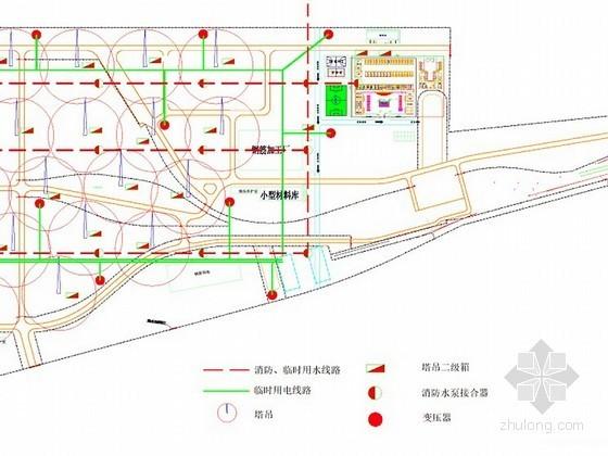 [天津]名企编制地铁土建工程现场临建施工专项方案58页(附丰富图表)