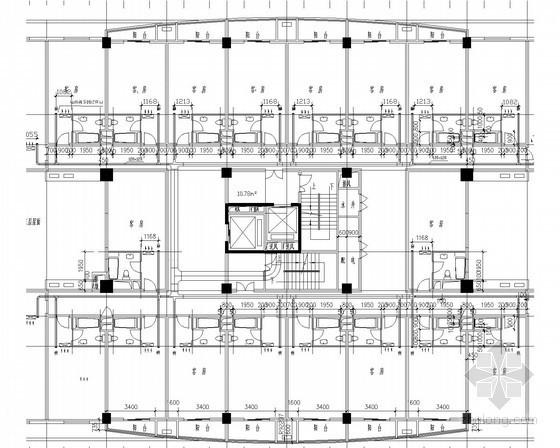 宾馆酒店暖通空调通风系统设计施工图(机房设计)
