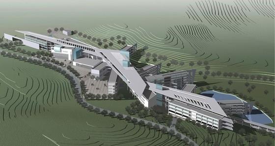 [广东]现代风格大学校区规划及单体设计方案文本(含CAD、草模)