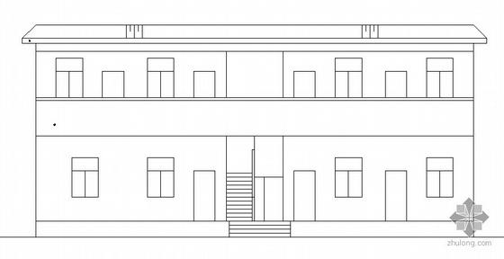 某二层宿舍建筑结构方案图
