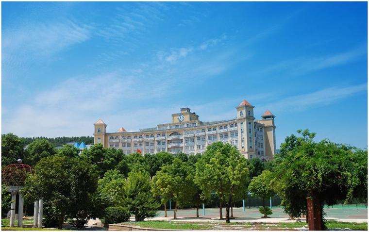 武昌理工学院正在打造风景园林式校园_1