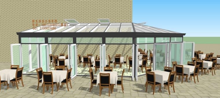 餐厅咖啡厅阳光房设计方案_4