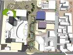 现代风格商业街改造项目SU模型