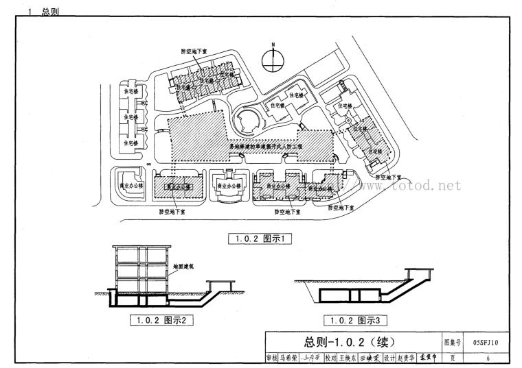 人防地下室设计规范图示-建筑专业