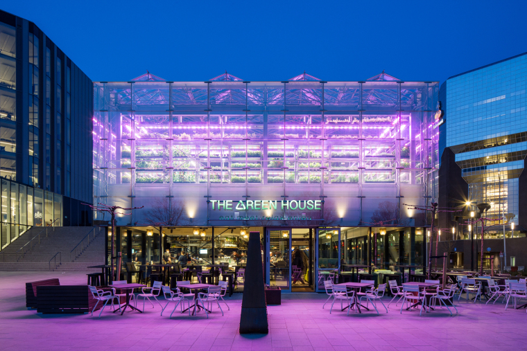 荷兰节能绿色餐厅