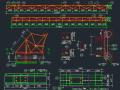多套钢桁架结构节点详图