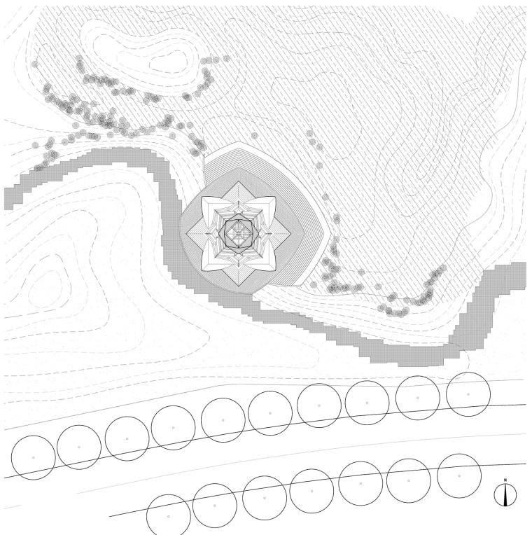 科技大学景观塔平面图(10)