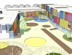 20个精选幼儿园整体规划Sketchup建筑模型