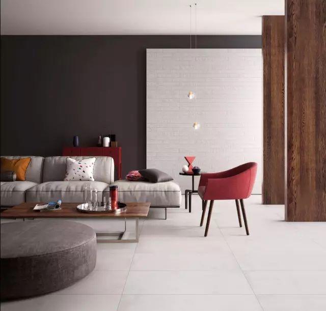 客厅瓷砖就该这么铺