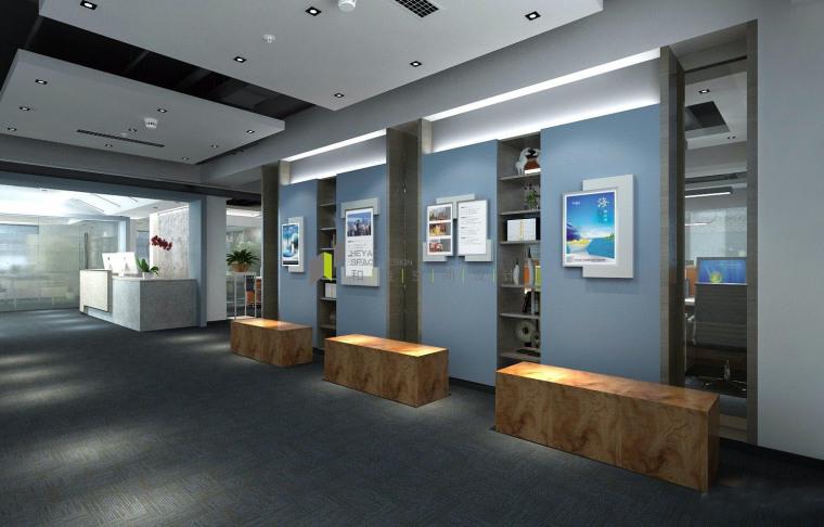 济南新中式风格的办公空间-6