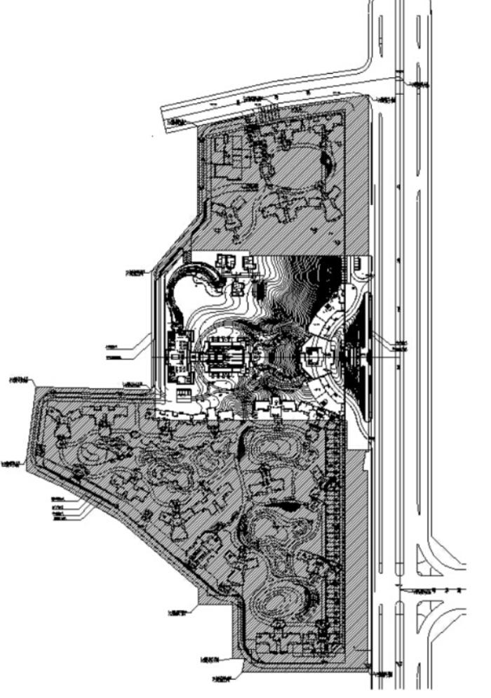 [江西]低碳高端居住区景观设计全套施工图(赠PDF施工图)