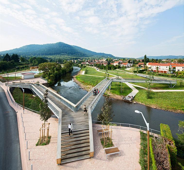 2-法国默尔特河岸景观设计第1张图片
