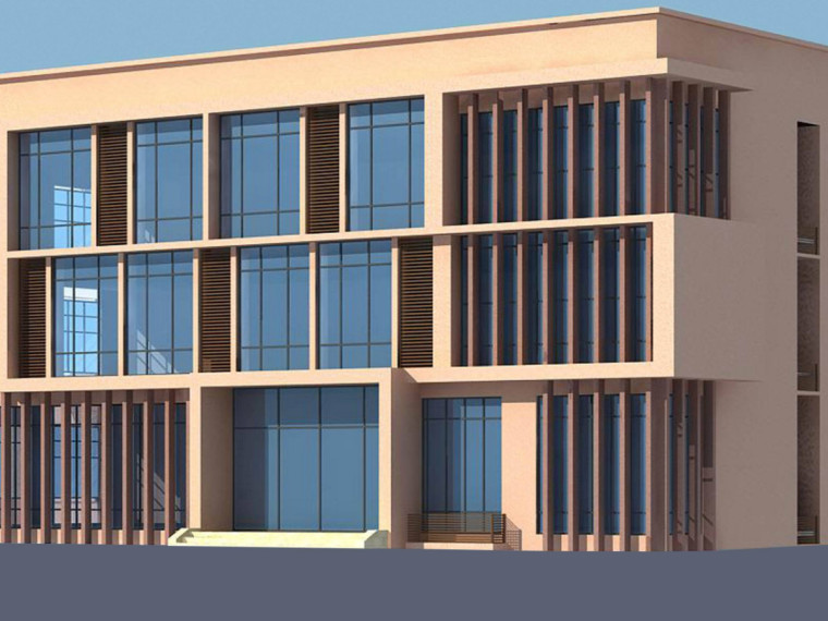 三层框架办公楼清单计价实例(含图纸)