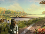 公园景观节点图实景图资料免费下载