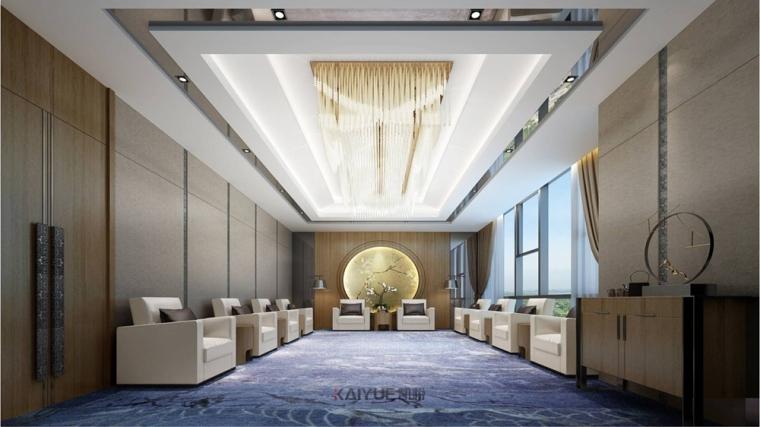 广州泰基工程办公楼装修设计-现代简约装修风格_4