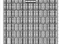 [宁夏]高层塔式住宅建筑施工图(含酒店、商业全专业图纸及人防)