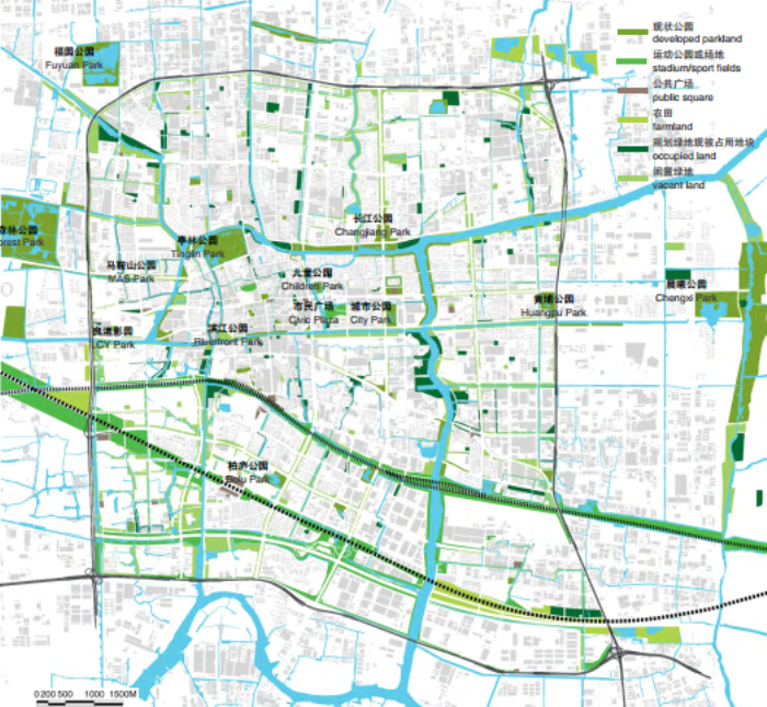 绿脉水都东部新城核心区规划设计方案
