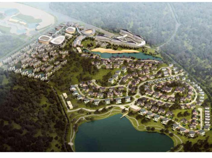 [云南]石林旅游文化区一期项目建筑设计方案文本