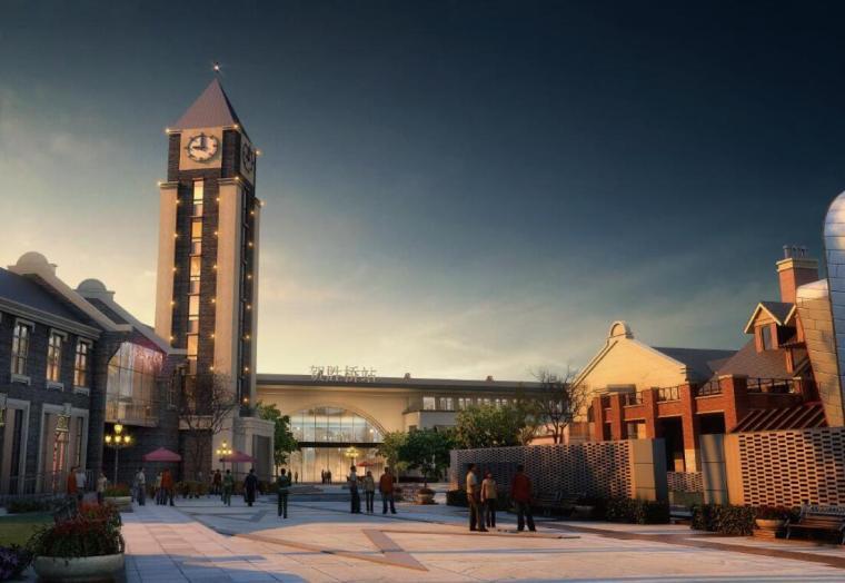 [湖北]武汉联投·贺胜桥站前中心商业街设计