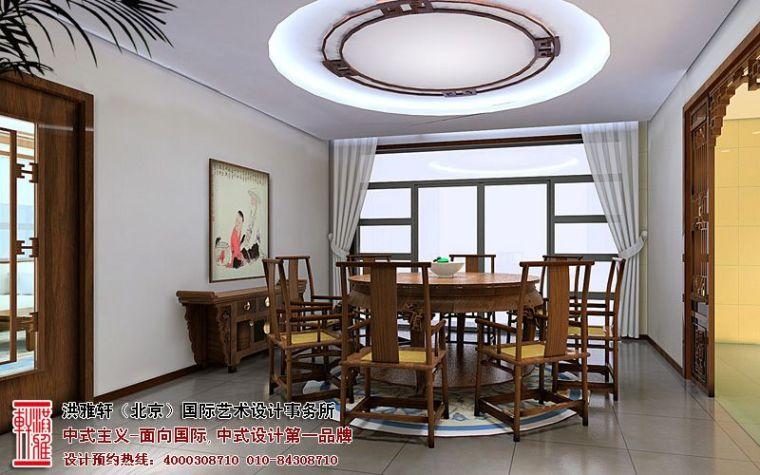 观塘别墅中式装修案例,品位古典高雅的审美格调_4