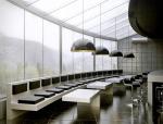 简约餐厅3D模型下载