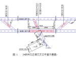 二号斜井交叉口施工方案