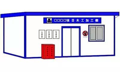 图文讲解:临边防护、临时用电、临时设施_14