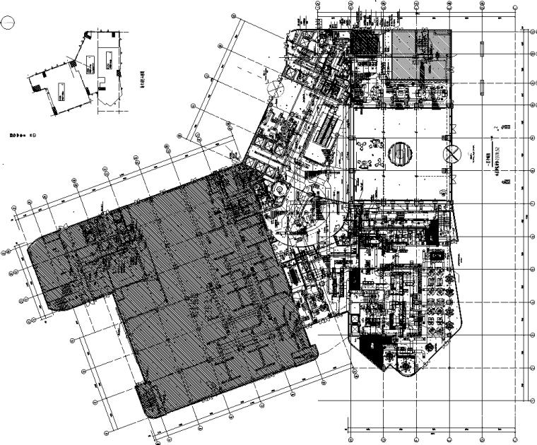 安徽五星级酒店一次机电设计施工图(增加屋面跟夹层)