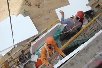 这可能是你见过的最专业的外墙岩棉保温板施工