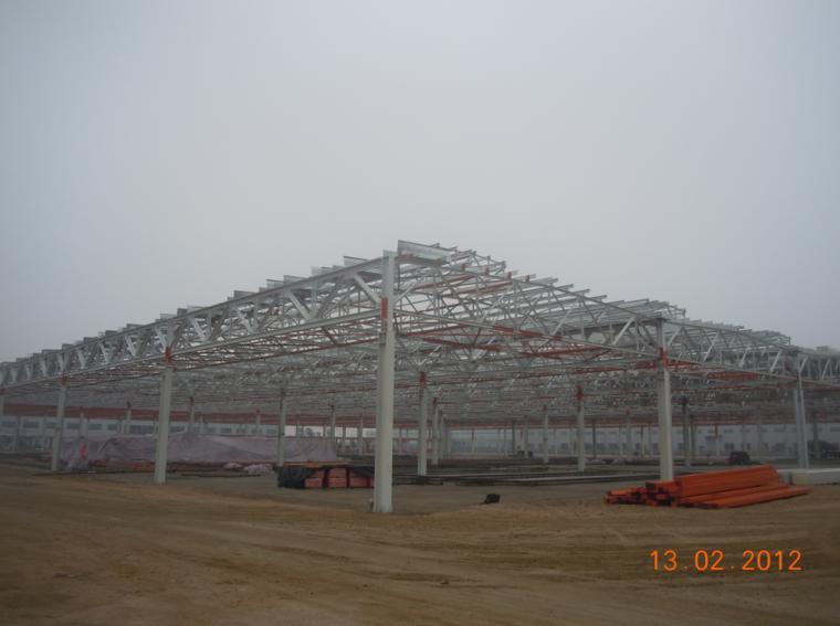 QC成果提高钢结构厂房防火涂料施工质量
