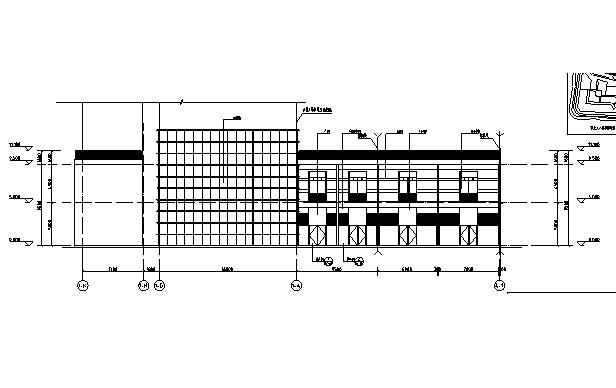 [广东]高层养生商业广场建筑施工图(含全专业图纸)_6