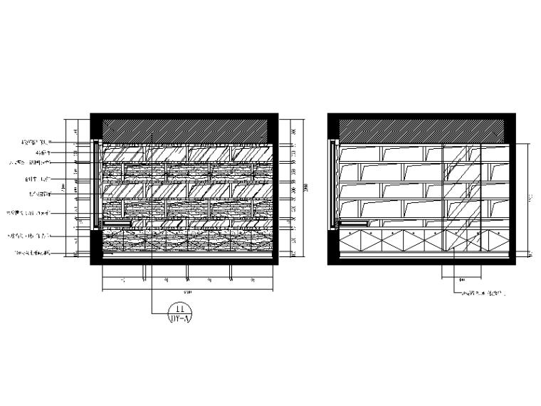 【重庆】新中式样板间设计CAD施工图(含效果图)_8