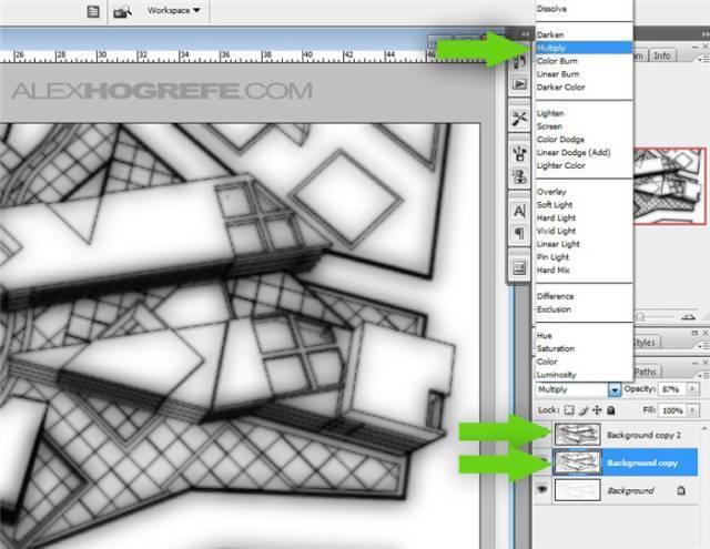 干货 SketchUp+photoshop快速渲染制作建筑景观效果图教程_10