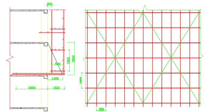 限价商品房悬挑式脚手架搭设方案及计算书