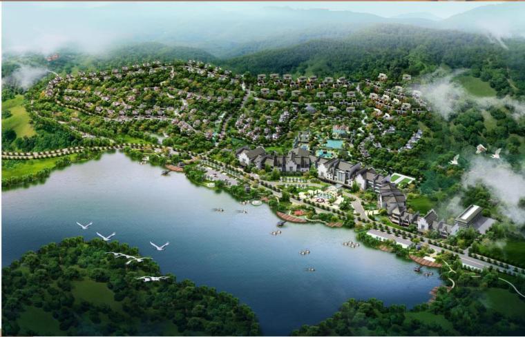 [江西]临川温泉旅游休闲度假区一期项目方案设计
